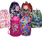 Sports and Drawstring Carry All Bag