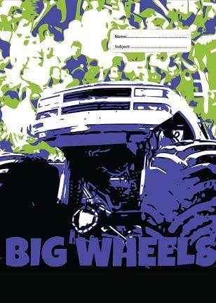 A4 Book Cover - Big Wheels III
