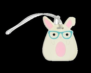 Bag Tag - LuLu and Pearl Rabbit