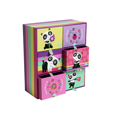 Desk Drawers - Panda Love