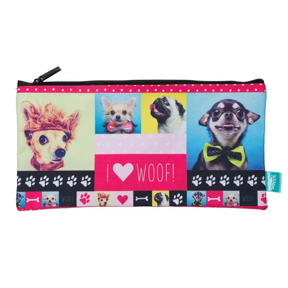 Rectangle Pencil Case - Woof