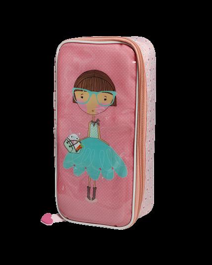 European Pencil Case - Lulu and Pearl - Pearl