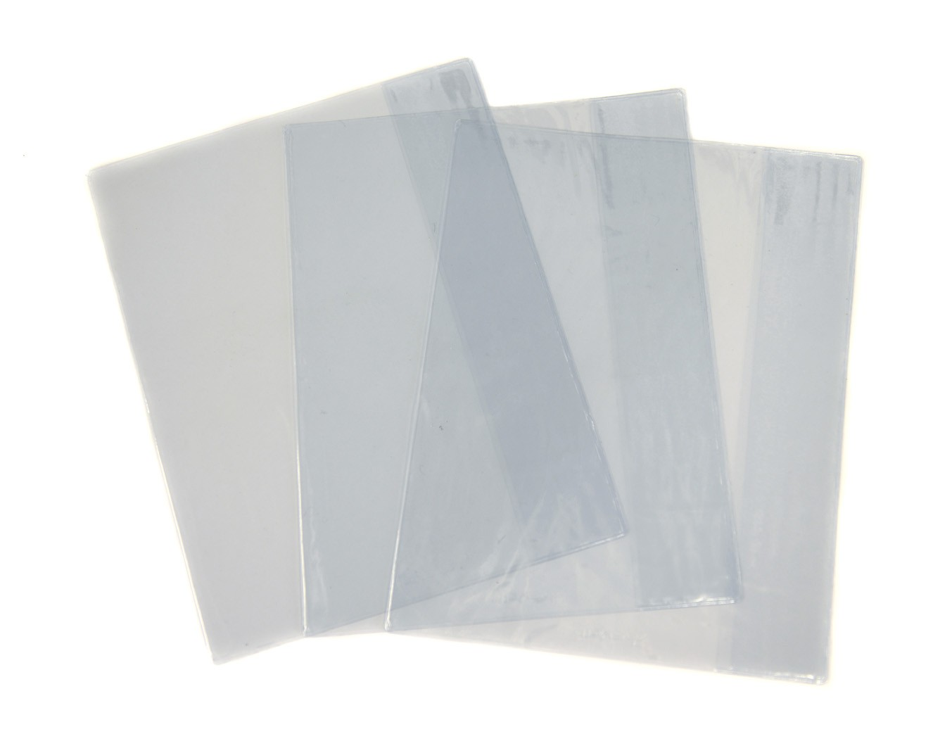 Exercise Book Cover - Clear 3 Pack