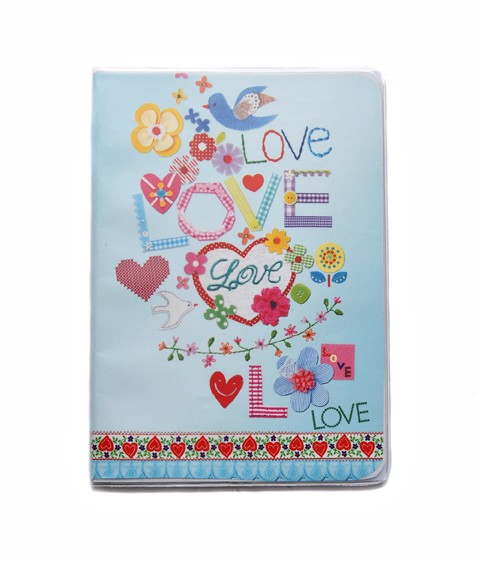 A5 Softcover Notebook - Love and Peace