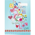 Scrapbook Cover - Love and Peace