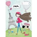 Scrapbook Cover - Paris Girl