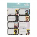 Name and Subject Label Stickers - Woof!