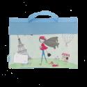 Library Bag - Paris Girl