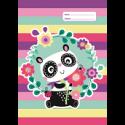 A4 Book Cover - Panda Love