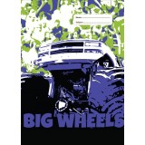 A4 Book Cover - Big Wheels III