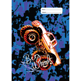 A4 Book Cover - Big Wheels II