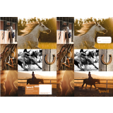 Scrapbook Cover - Country Horse