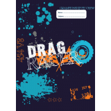 A4 Book Cover - Drag Racer II