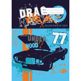 A4 Book Cover - Drag Racer I