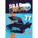 Scrapbook Cover - Drag Racer I