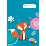 A4 Book Cover - Funny Foxes I