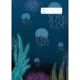 A4 Book Cover - Jellyfish