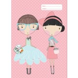 A4 Book Cover - Lulu and Pearl