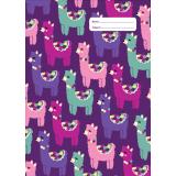 A4 Book Cover - Llama Love