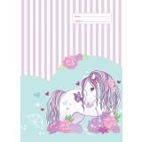 A4 Book Cover - Peony Pony II