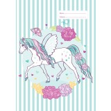 A4 Book Cover - Peony Pony III