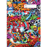 A4 Book Cover - Rebel Graffiti