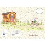 Scrap Book Cover - Ruby on Bike