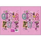 Exercise Book Cover - Girls Rule
