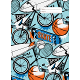 A4 Book Cover - Sports Craze