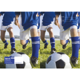 Exercise Book Cover - Soccer