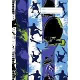 A4 Book Cover - Street Skate I