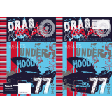 Scrap Book Cover - Under The Hood