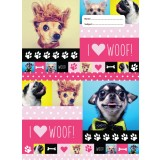 Scrapbook Cover - Woof! I