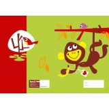 Marsh Mellow Exercise Book Covers - Monkey