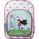 Kids Backpack - Paris Girl