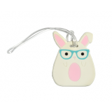 Bag Tag - LuLu and Pearl Rabbit