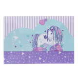 Document Wallet - Peony Pony