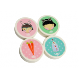 Shaped Erasers - Lulu and Pearl