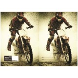 Exercise Book Cover - Motorcross