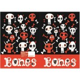 Exercise Book Cover - Bones