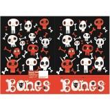 Exercise Book Cover - Bones