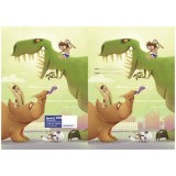 Exercise Book Cover - Dinosaurs