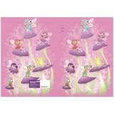 Exercise Book Cover - Fairy Tea Party