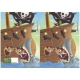 Exercise Book Cover - Pirates