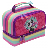 Twin Deck Lunch Box - Panda Love