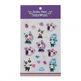 Sticker Sheet - Panda Love