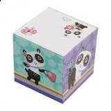 Mini Paper Cube - Panda