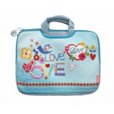 Large Laptop Bag - Love and Peace