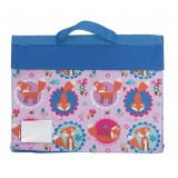 Library Bag - Funny Foxes