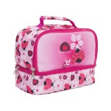 Twin Top Lunch Box - Lady Bug